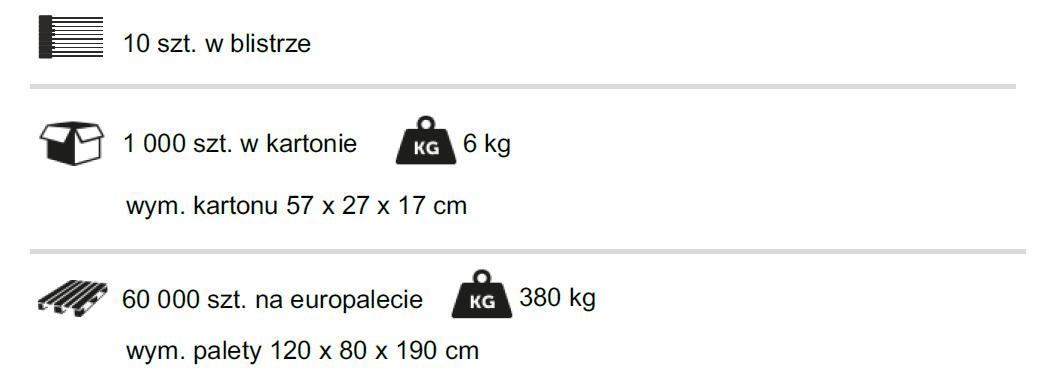 Plomba paskowa do znakowania tusz dziczyzny SIBO-BAG HUNTER - pakowanie